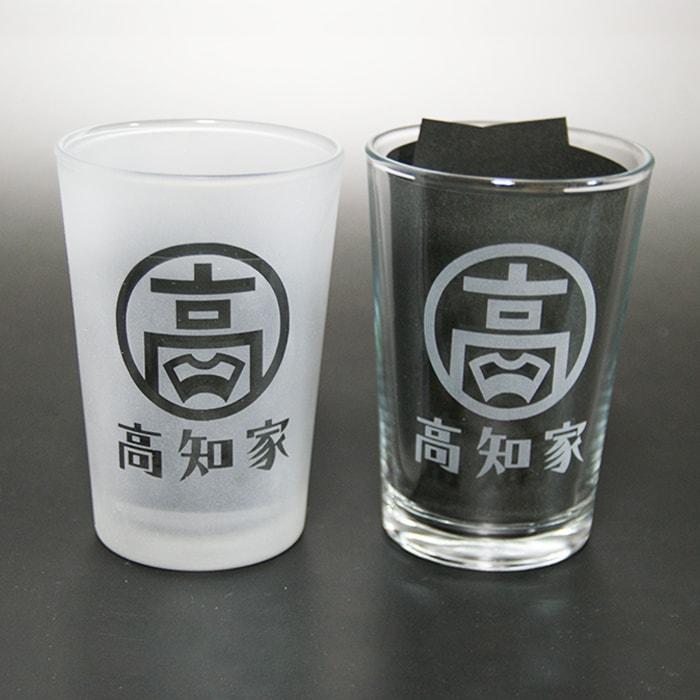 ブラスト工芸|高知家グラス 丸小セット|レニオンコーポレション|高知