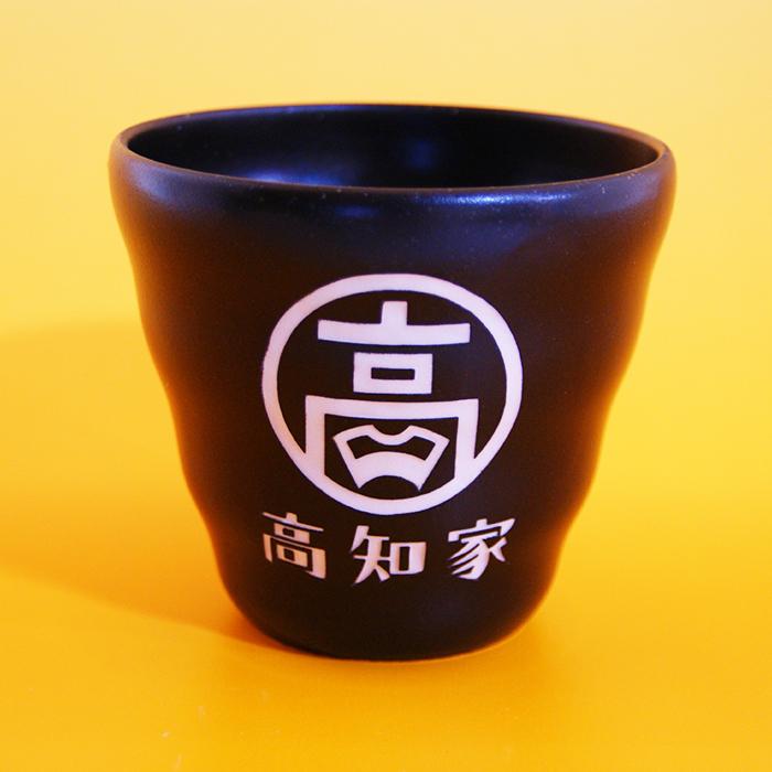 ブラスト工芸|高知家 焼酎カップ|レニオンコーポレション|高知